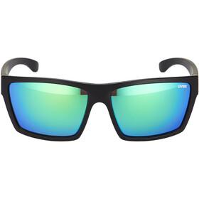 UVEX LGL 29 Gafas, black mat/green